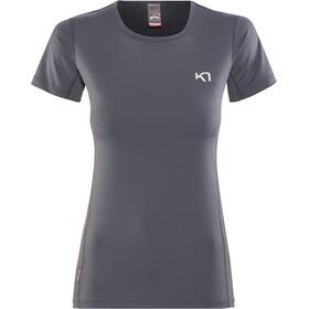 Kari Traa Nora - T-shirt manches courtes Femme - gris